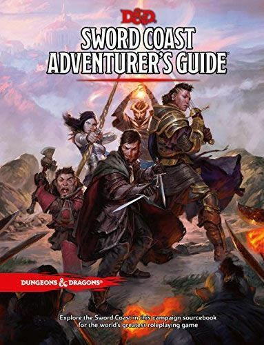 SWORD COAST ADVENTURERS GUIDE SOURCEBOOK