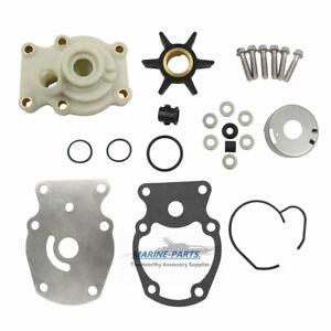 Water Pump Impeller Repair//Rebuild Service Kit 20-35 hp Johnson Evinrude 393630