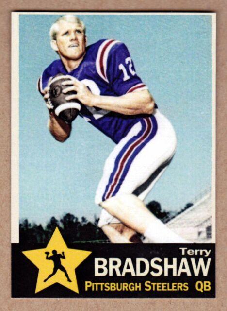 Terry Bradshaw '70 Pittsburgh Steelers rookie season Monarch Corona Gold Star #4