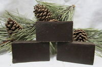 Pine Tar Soap W/silver Sol made The Oldway 3 Bars $13.95