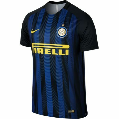 Maillot De Foot Match Course Nike FC Inter Home Jersey 2016/17 Authentique