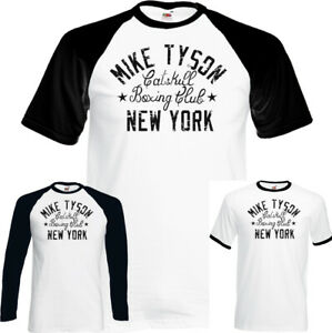 Mike-Tyson-T-Shirt-Catskill-Boxing-Club-Iron-Gym-New-York-Mens-MMA-Distressed