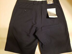 NWT-Greg-Norman-Men-039-s-Size-36-Wicking-Microfiber-Athletic-Stretch-Blue-Shorts