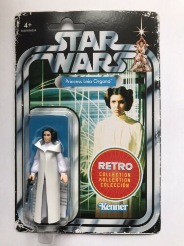 Envoi gratuit. Star Wars The Rétro Collection Princesse Leia Organa NEUF