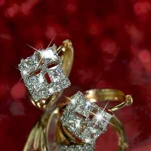 18k-yellow-gold-gf-huggie-made-with-Swarovski-crystal-earrings-diamond-cut