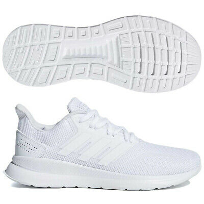 Adidas Women Running Shoes Runfalcon Training Sneakers Fashion White New  F36215 | eBay