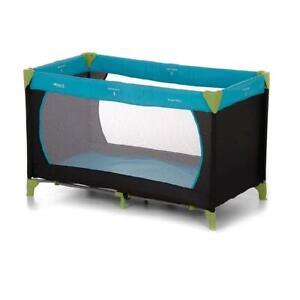 Hauck Dream'n'Play Travel Cot 120x60cm (Water Blue) - RRP £59.99