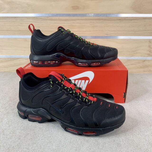 Nike Air Max Plus TN Ultra Tuned Black University Red AR4234-002 Mens Size  13