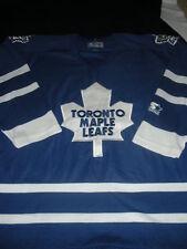 STARTER TORONTO MAPLE LEAFS BLUE NHL HOCKEY JERSEY LARGE ADULT VINTAGE SEWN