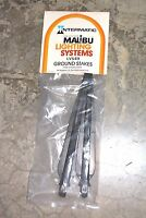 Intermatic Malibu Low Voltage System Ground Stake Lot Of 1 Or 2 Stakes Wow
