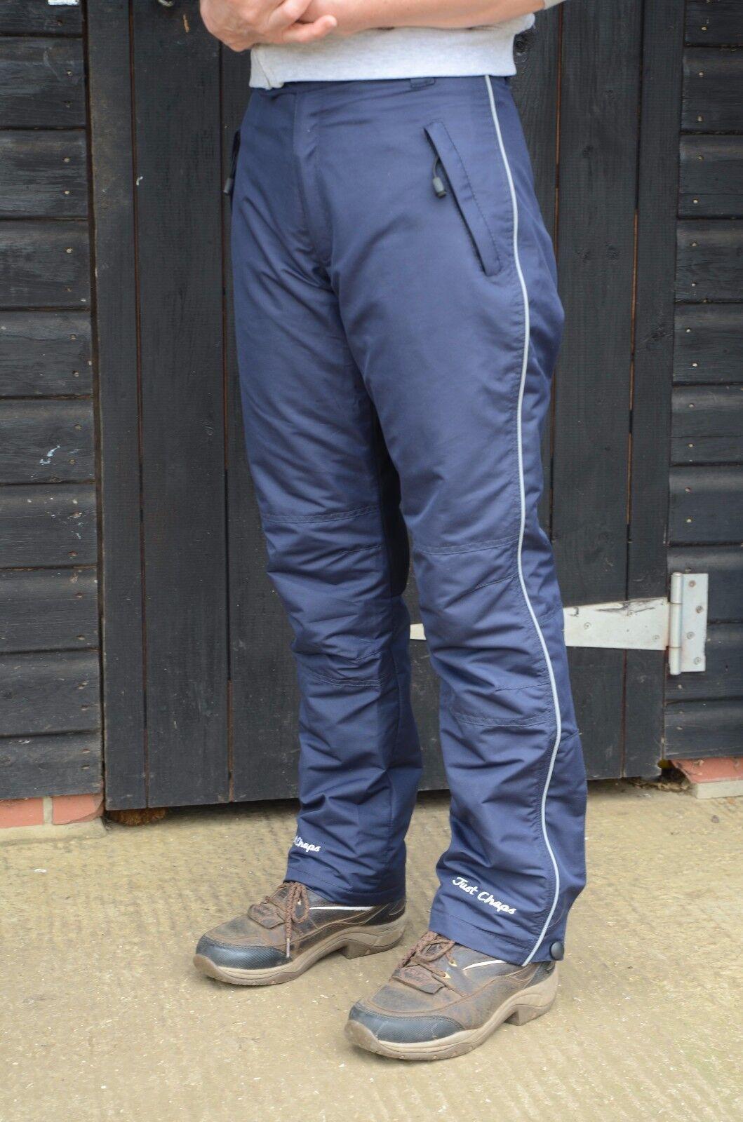 Asiento completo sólo Chaps Impermeable Pantalones De  Montar a Caballo  precios bajos todos los dias