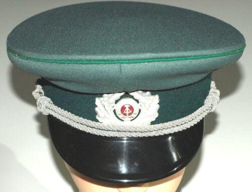Polizia VISIERA GR 57 Carnevale Carnevale Ostalgie Uniform Museo NVA DDR