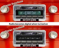 1964-66 Ford Mustang NEW LOOK USA-630 II* 300 watt AM FM Stereo Radio iPod, USB