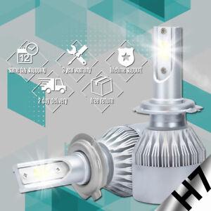 XENTEC-LED-HID-Headlight-Conversion-kit-H7-6000K-for-Jaguar-XJ8-1998-2008
