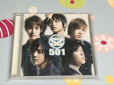 SS501 JAPAN VERSION 1ST ALBUM CD SS501     CA24