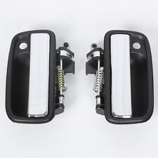 A Pair Chrome Outer Door Handles Front Right Left For Toyota Tacoma 6921035070