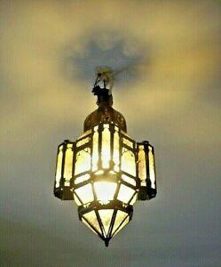 40 CM!! APPLIQUE murale Marocaine fer forgé lampe lustre