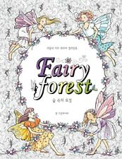 Fairy Forest Coloring Book Anti Stress Art Therapy 64 Pages