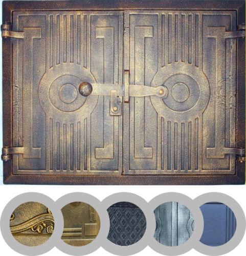Backofentür Holzofentür Ofentür Gusseisen Gußeisen Räucherei FARBEN 440 x 330mm
