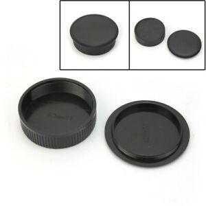 Appareil-Photo-Corps-et-capuchon-a-lentille-arriere-pour-universel-vis-M42-Mount-Lens-NEUF-noir