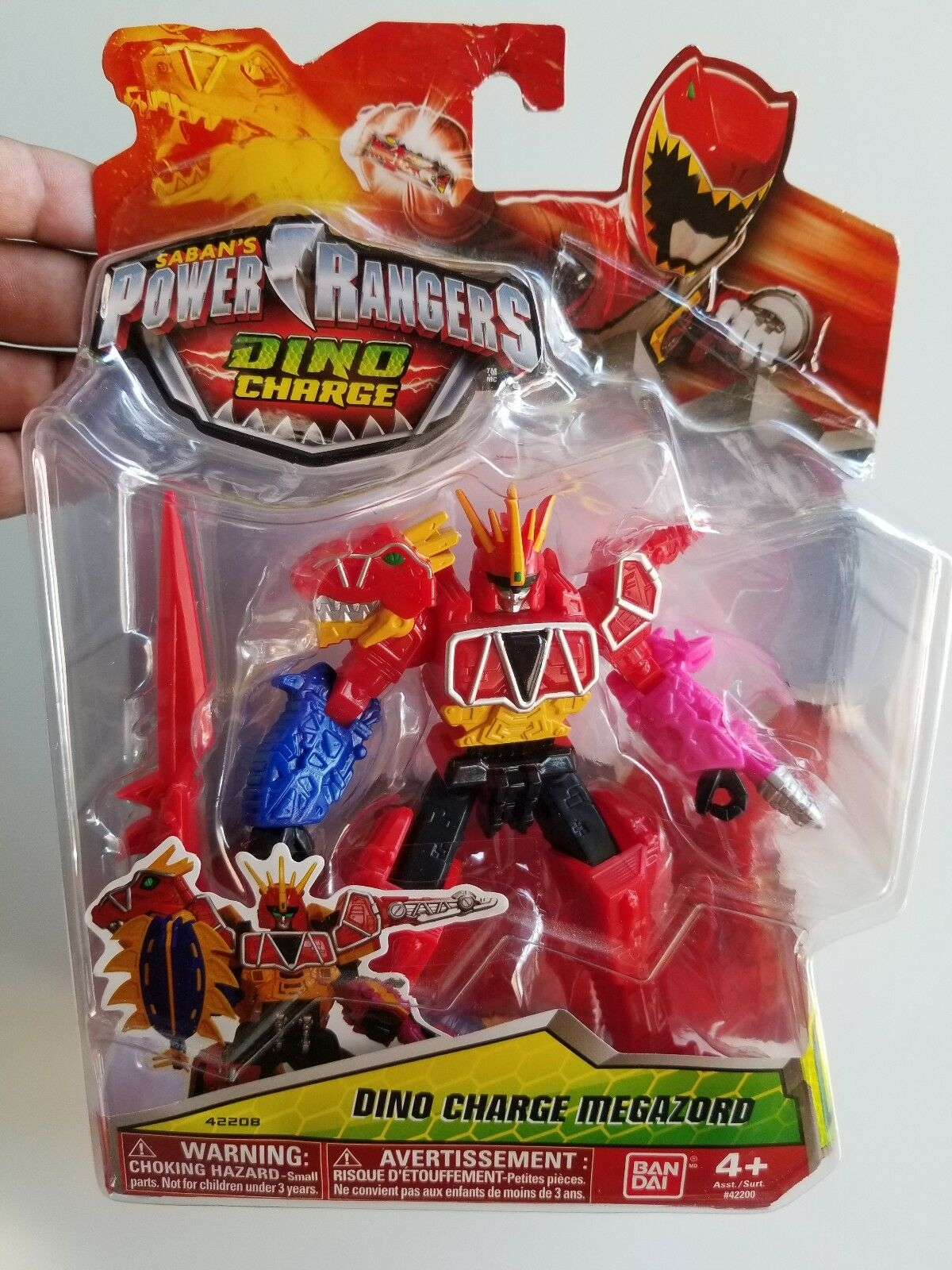 RARE Power Rangers Dino Charge - 5  Megazord Action Figure NEW