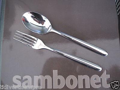 Other Flatware & Cutlery Collection Here Sambonet Hannah-cucchiaio Legumi+forchetta Legumi-da 59,00 A 45,90 Euro For Fast Shipping