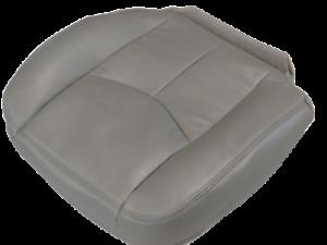 03-07 Chevy 1500-2500-3500-Silverado-GAS Passenger Bottom Vinyl seat cover GRAY