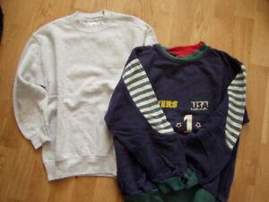 Cooler-Doppelpack-Sweatshirts-Fruit-of-the-Loom-Gr-128-Jungs