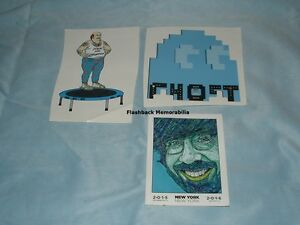 3 phish decal sticker lot 2015 16 nye madison square - Phish madison square garden tickets ...