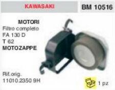 11010.23509H FILTRO ARIA COMPLETO MOTOZAPPA KAWASAKI FA130D T62 FA 130 T 62