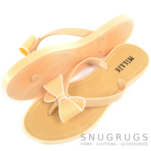Lazo Mujer Millie playa Vacaciones chanclas Verano zapatos Sandalia prqx6IrRwH