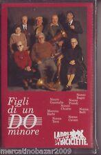 LADRI DI BICICLETTE Figli di un do minore (1991 MC TAPE ORIGINALE NUOVA SIGILLAT