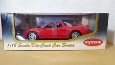 1:18 Kyosho ACURA HONDA NSX TYPE S RED 08081R diecast car model NEW