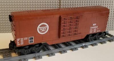 Lego Train Boxcar Union Pacific PLEASE READ DESCRIPTION