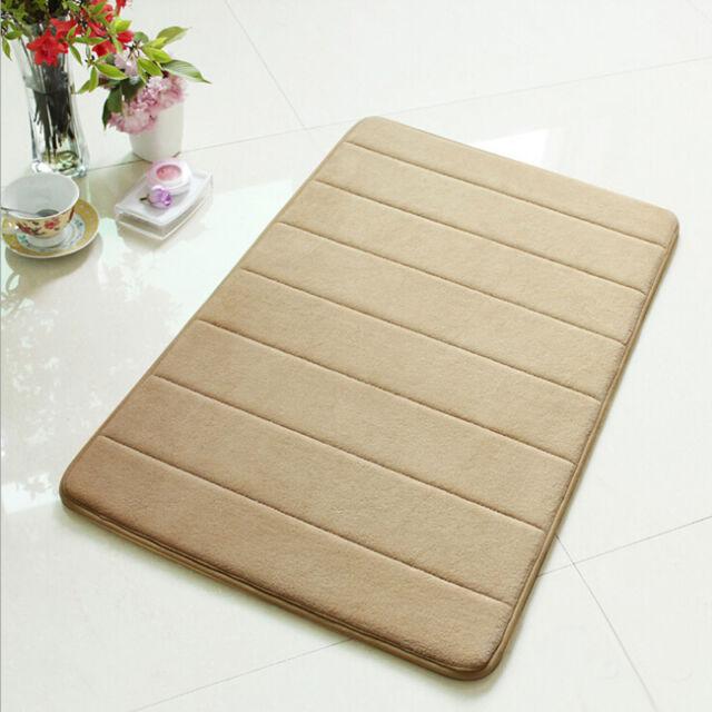 Memory Foam Bath Mat 40*60 Absorbent Slip-resistant Pad Bathroom Bath Mat Mats