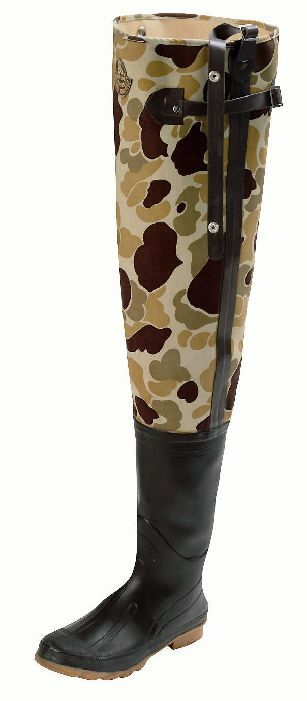 Proline 711-12 Camo 3 Ply Canvas Insulated Hip Boot Size 12 15988