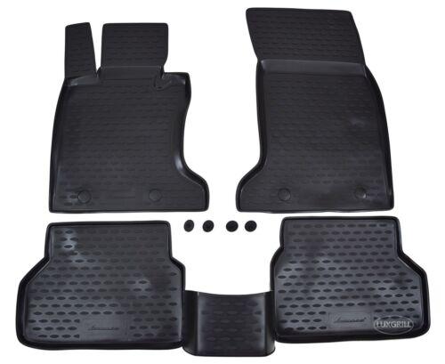 3D TAPPETI TAPPETINI AUTO IN GOMMA PER BMW 5 SERIE E60 E61 2003-2010