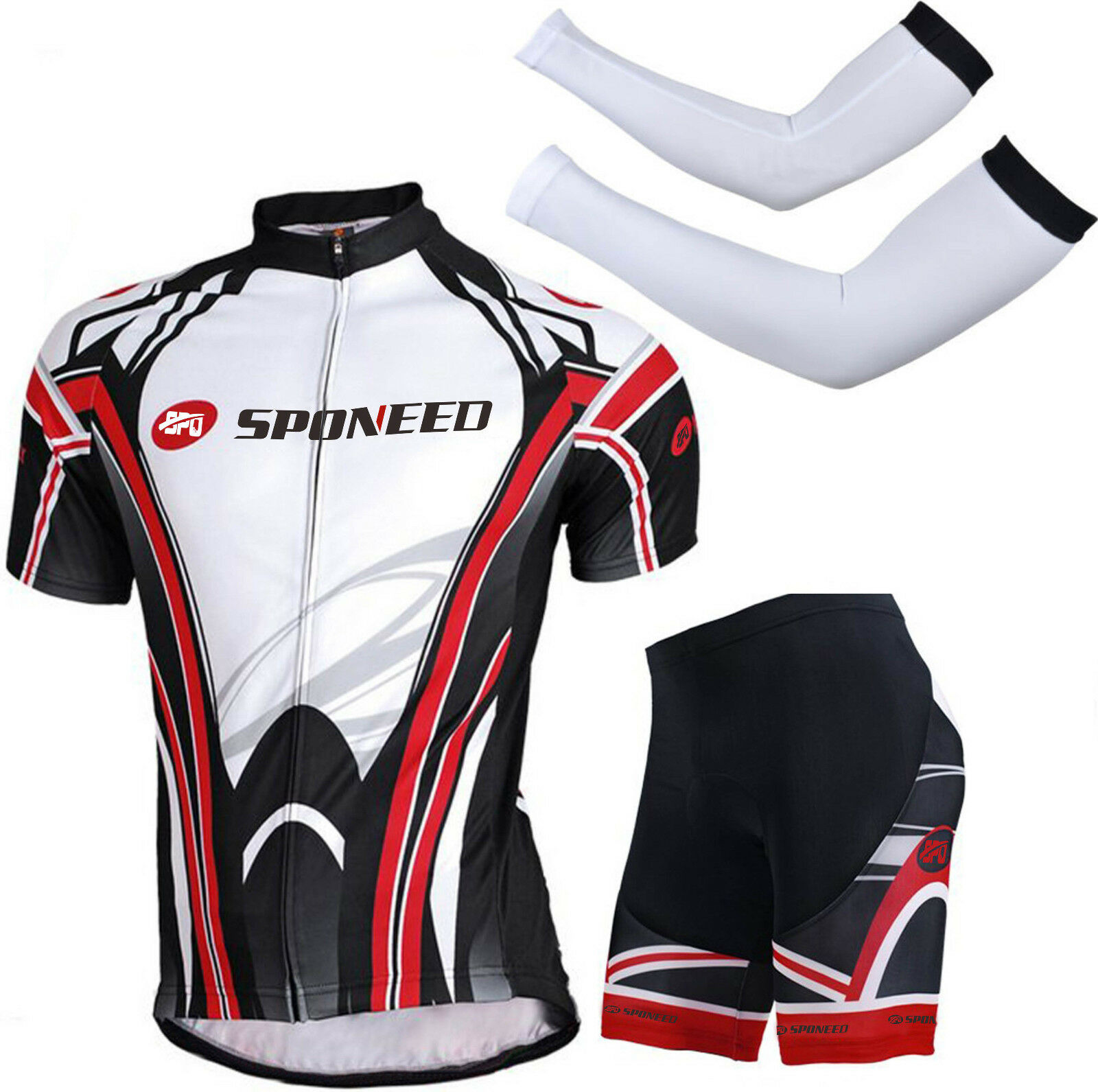 Men's Mountain Bike Shirt Designs Cycling Sets Bicycle Jerseys 3D Gel Pad Shorts