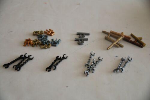 Playmobil lots Colonial naval pirate key lock glass handcuffs jail