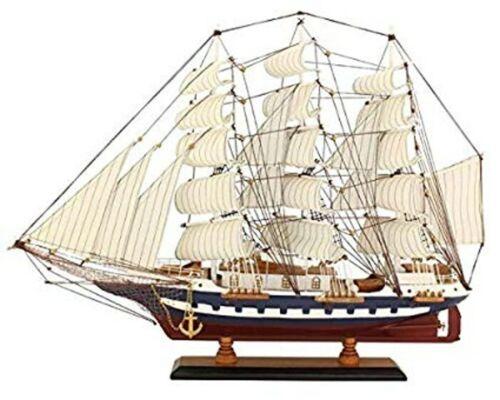 Modèle-VOILIER BATEAU Modèle marin bois 64 cm