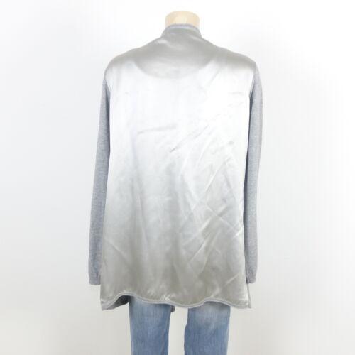 Argent Gris Delicatelove Cardigan Blouse Gr 40 L OqORfwxt