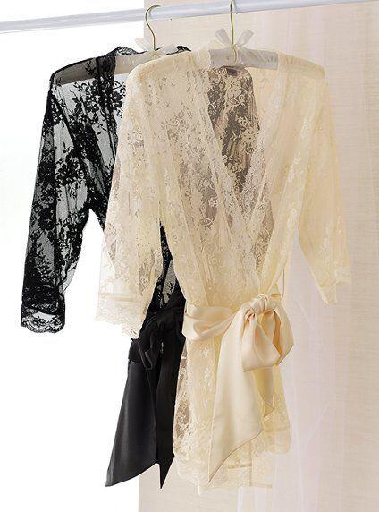 Women Satin Lace Sexy Lingerie Sleepwear Babydoll Underwear Robe G-string