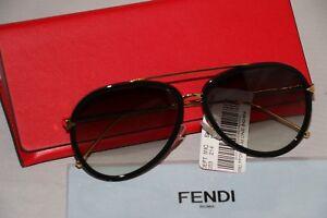 29611925c81 Fendi Sunglasses - Black -FF0155 S MY2JJ 716737842454