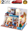 SURPRISES! LOL SURPRISE DOLL HOUSE Miniature Furniture Christmas Gifts USA
