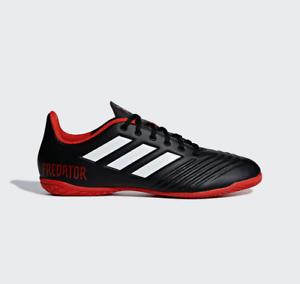 c259d6776 MENS Adidas Predator Tango 18.4 IN Indoor Soccer Cleats DB2136 Black ...