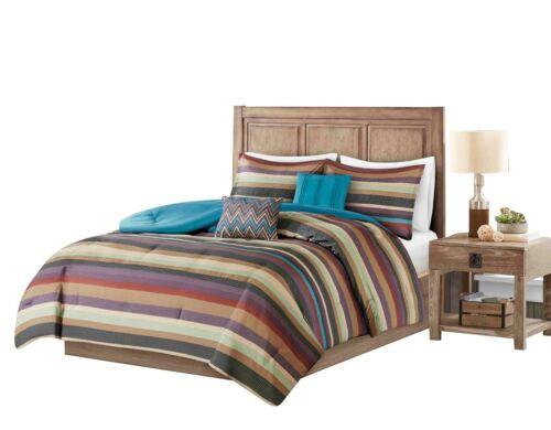 5pcs Cabin Lodge Rustic Bohemian Comforter Christmas Comforter Set Bedding Yukon