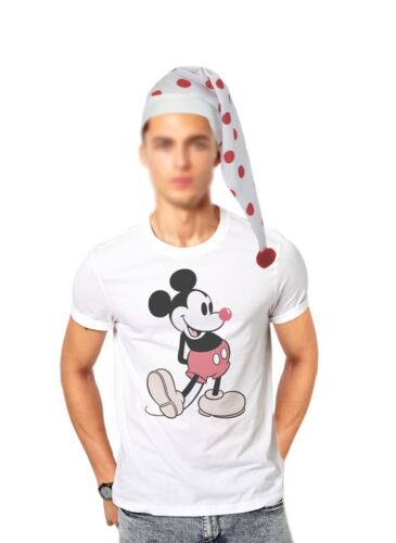 Gli adulti Naso Rosso Giorno a Pois STORY TELLER Wee Willy Winky Cappello Costume