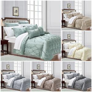 3-pieza-Acolchada-Colcha-Cama-Tirar-Doble-King-Size-conjuntos-de-ropa-de-cama-de-lujo