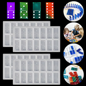 2PCS-Silicone-Dominoes-Mold-Resin-Epoxy-Game-Making-Craft-DIY-Mould-Casting-Tool