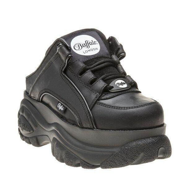 Buffalo Damen 1329 14 2 0 Plateau Schuhe Schuhe Schwarz Ebay